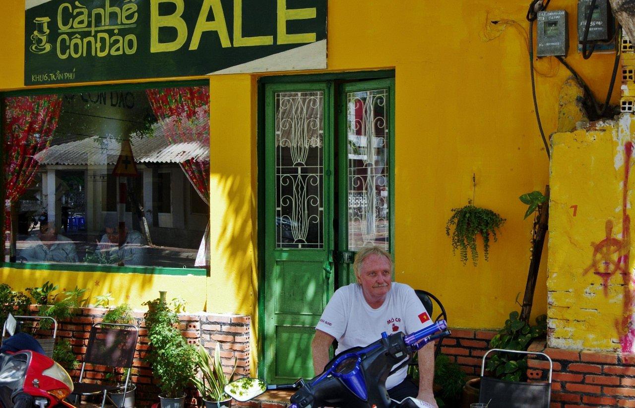 Coffee shop in Vietnam
