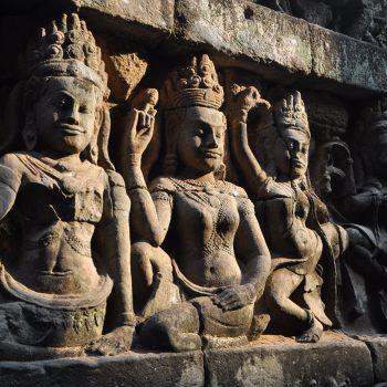 Sculptures in Cambodia