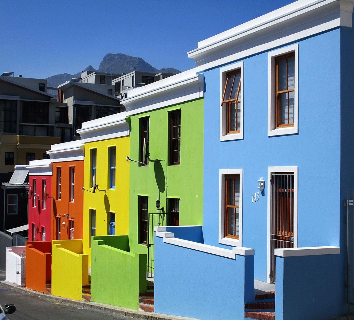colorful houses Bo-Kapp neighborhood