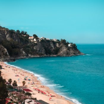 A photo of a beach in Calabria, Italy