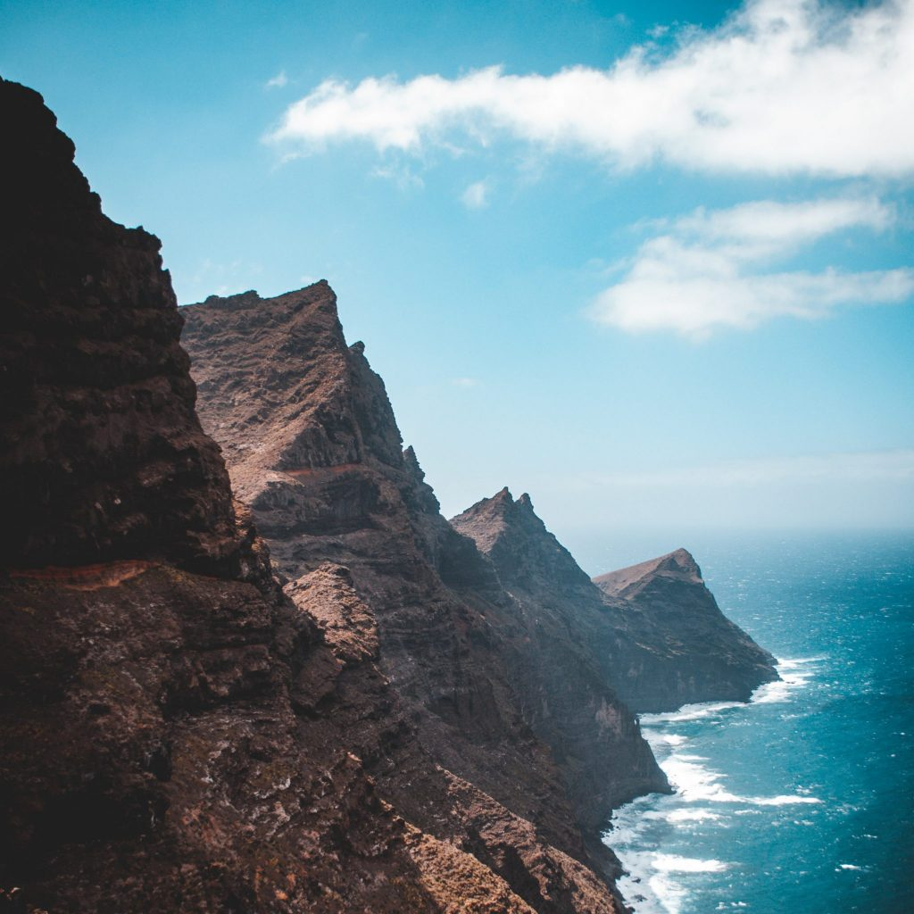 Cliffs of Gran Canaria