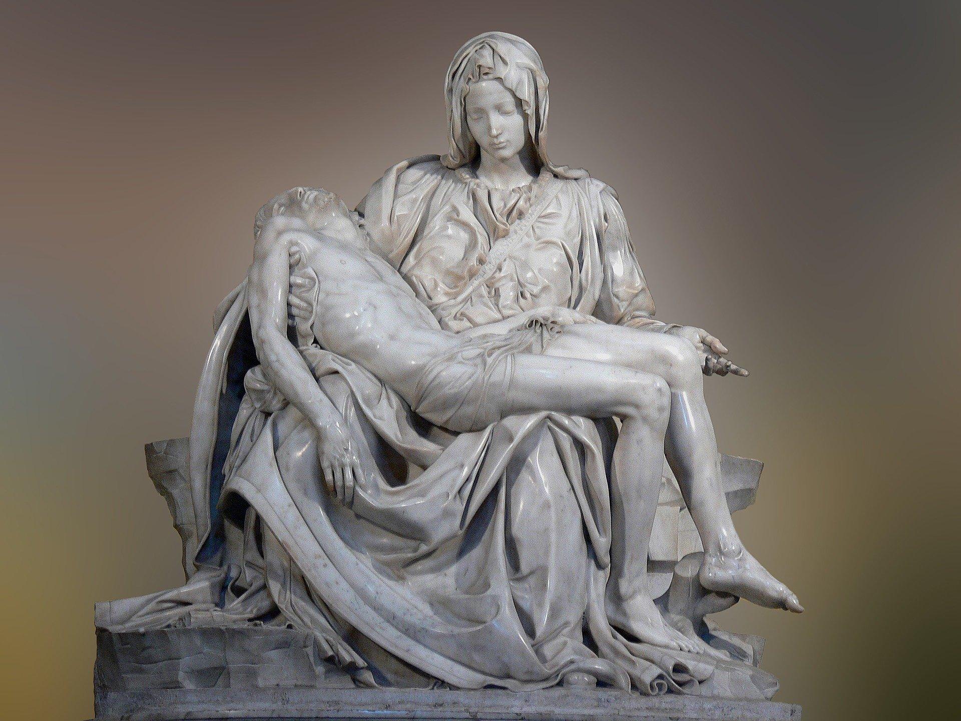 Pietra by Michelangelo, St. Peter's Basilica, Vatican City