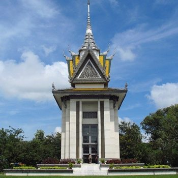 killing fields Cambodia temple