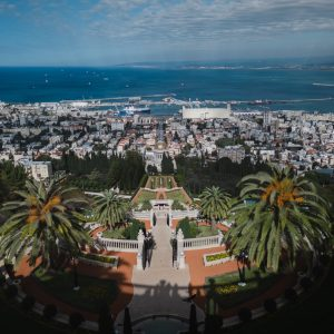 A famous site in Haifa Israel.