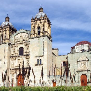 What is Mexico known for? One site is the cathedral in Oaxaca