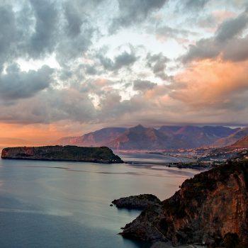 Photo of coast in Calabria, Italy