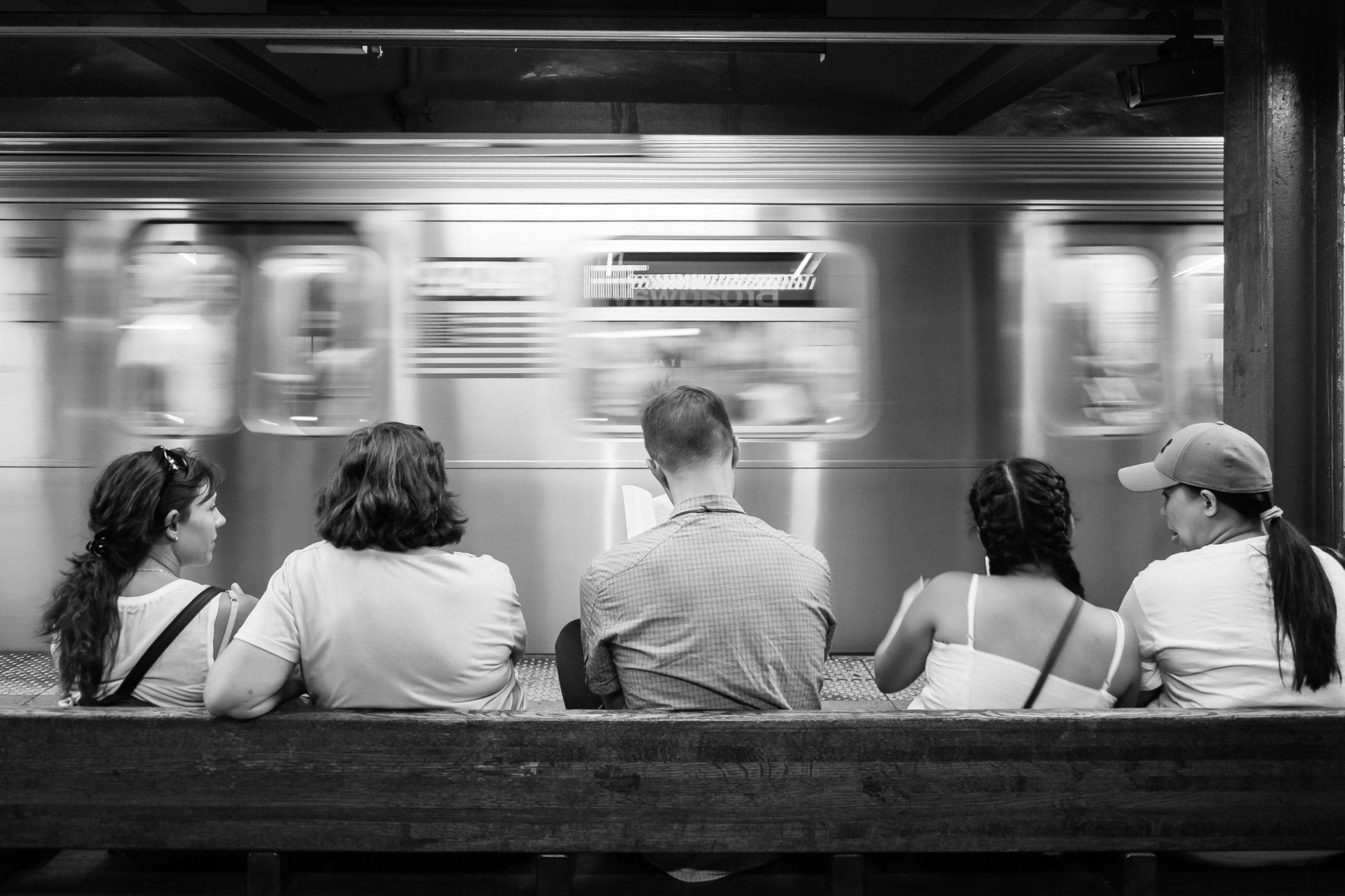 The New York Subway.