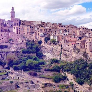 the city of Bocairent spain