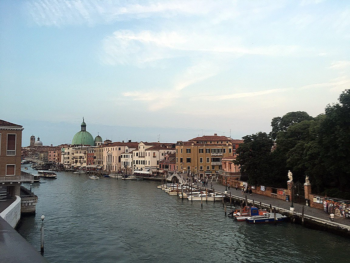 the mainland of venice